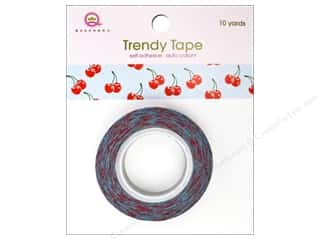 Queen & Co Trendy Tape: Queen&Co Trendy Tape 10yd Cherries