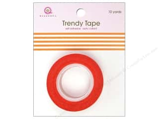 Queen&Co Trendy Tape 10yd Bold Stripe Orange