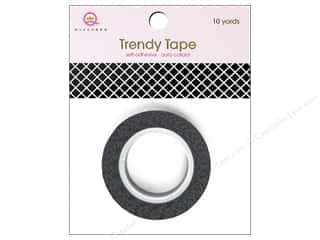 Queen&Co Trendy Tape 10yd Fishnet Black