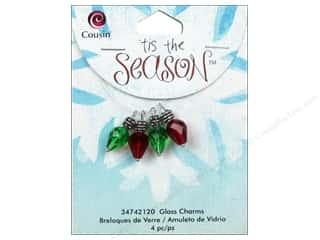 Cousin Charm Tis The Season Glass/Metal Faceted Bulb