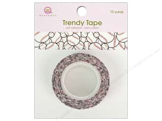Queen & Co Trendy Tape: Queen&Co Trendy Tape 10yd Baseball