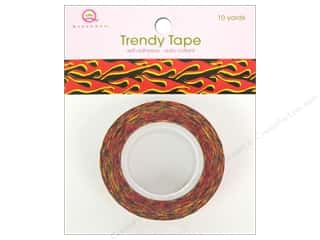 Queen & Co Trendy Tape: Queen&Co Trendy Tape 10yd Flames