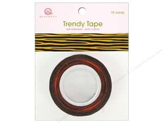 Queen & Co Trendy Tape: Queen&Co Trendy Tape 10yd Tiger