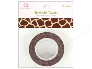 Queen&Co Trendy Tape 10yd Giraffe