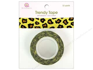 Glue and Adhesives Queen&Co Trendy Tape: Queen&Co Trendy Tape 10yd Cheetah