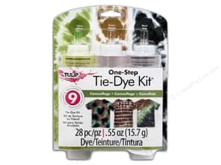 Dyes: Tulip Dye Kits One Step Tie 3 Color Camouflage