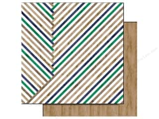 Glitz Design 12 x 12 in. Paper Dapper Dan Stripe (25 piece)