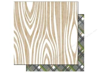 Glitz Design 12 x 12 in. Paper Dapper Dan Woodgrain (25 piece)