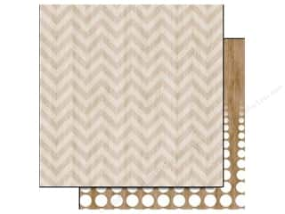Glitz Design 12 x 12 in. Paper Dapper Dan Chevron (25 piece)
