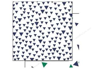Glitz Design 12 x 12 in. Paper Dapper Dan Triangles (25 piece)