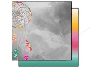 Glitz Design 12 x 12 in. Paper Wild & Free Dreamcatcher (25 piece)