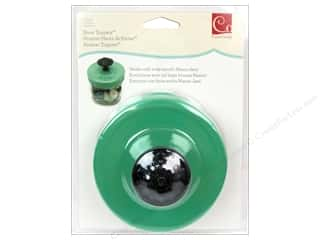 Hooks New: Cosmo Cricket Embellishment Show Toppers Knob Mason Lid Green