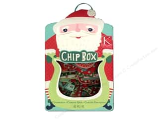 Christmas ABC & 123: K&Company Chipboard Chipbox Mod Holiday Alphabet