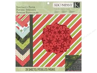K & Company Papers: K&Company Paper Pad Specialty Mod Holiday Alpine