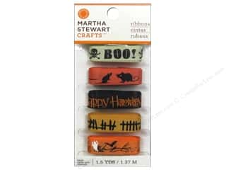 Cording 15 Yards: Martha Stewart Ribbon Classic Halloween