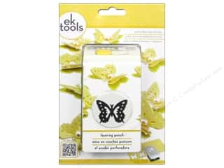 EK Success paper dimensions: EK Paper Shapers Layering Punch Butterfly