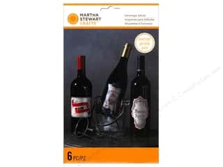 Baking Wraps / Cupcake Wrappers: Martha Stewart Labels Wine Gothic Manor