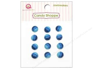 Queen&Co Sticker Candy Jawbreakers Rnd Blueberry