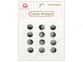 Queen&Co Sticker Candy Jawbreakers Rnd Licorice