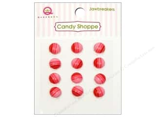 Queen&Co Sticker Candy Jawbreakers Rnd Cherry Bomb