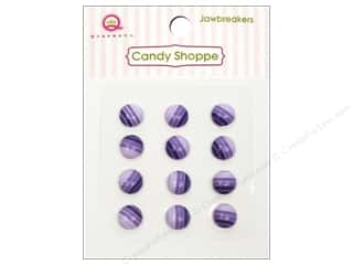 Queen&Co Sticker Candy Jawbreakers Rnd Grape Ape