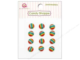 Queen&Co Sticker Candy Jawbreakers Rnd Rainbow