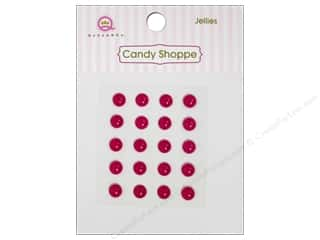 Queen&Co Sticker Candy Jellies Round Raspberry