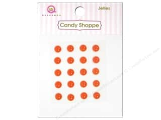 Queen&Co Sticker Candy Jellies Round Orange Crush