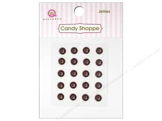 Queen&Co Sticker Candy Jellies Round Copper