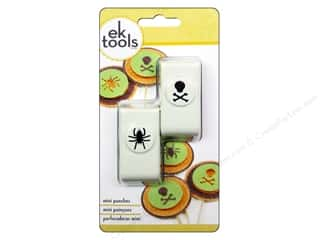 Punches: EK Paper Shapers Mini Punch Set Spider and Skull 2 pc.