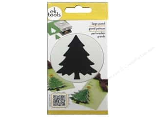 Christmas: EK Paper Shapers Large Punch Christmas Tree