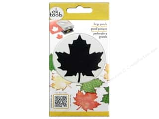Paper House Fall / Thanksgiving: EK Paper Shapers Large Punch Maple Leaf