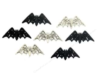 Batting Craft & Hobbies: Jesse James Dress It Up Embellishments Bewitching Bats