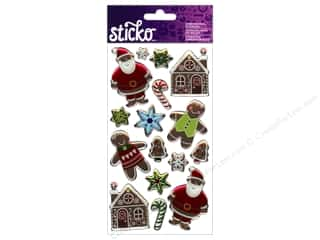 EK Sticko Stickers Epoxy Christmas Ginger Cookies