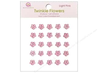 Queen&Co Sticker Twinkle Flowers Light Pink