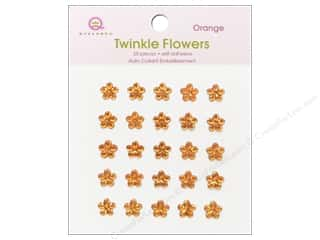 Queen&Co Sticker Twinkle Flowers Orange