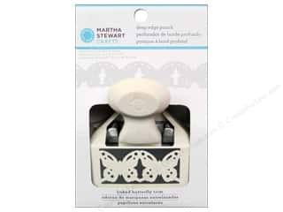 Martha Stewart Deep Double Edger Punch Linked Butterfly