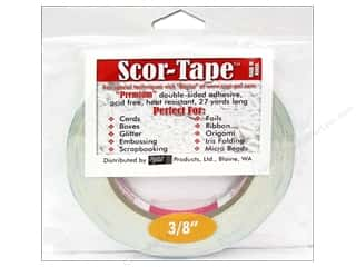 Roll Tape: Scor-Pal Scor-Tape Double Sided Adhesive 3/8 in. x 27 yd.