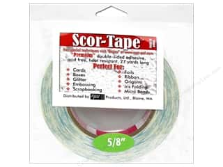 Scor Pal Products: Scor-Pal Scor-Tape Double Sided Adhesive 5/8 in. x 27 yd.