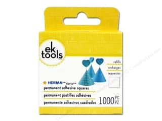 Hot $0 - $5: EK Herma Vario Square Refill 1000pc