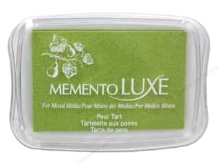 Stamping Ink Pads Artist Papers: Tsukineko Memento Luxe Ink Pad Large Pear Tart