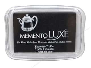 Stamps Brown: Tsukineko Memento Luxe Ink Pad Large Espresso Truffle