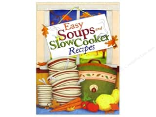 Cooking/Kitchen Books & Patterns: Cookbook Resources Easy Soups & Slow Cooker Recipes Book