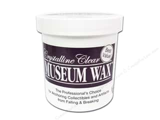 Pressing Aids Glues, Adhesives & Tapes: Quake Hold Museum Wax 13oz