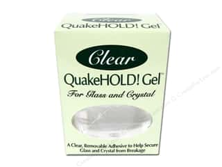 Glues/Adhesives Clearance Crafts: Quake Hold Gel 4oz