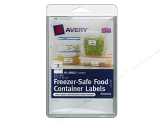 sticker: Avery Freezer-Safe Food Container Labels 40 pc.