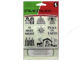 Inkadinkado InkadinkaClings Clear Stamp Inchies Holy Night