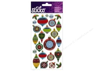 EK Sticko Sticker Epoxy Holiday Ornaments