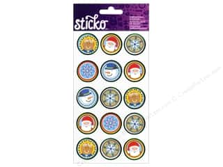 EK Sticko Sticker Holiday Seals