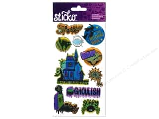 Halloween EK Sticko Stickers: EK Sticko Stickers Ghoulish Halloween